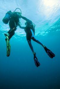 Recyclage des moniteurs de plongée brevetés par l'Etat