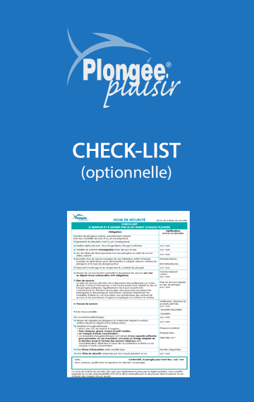 Check List Plongée