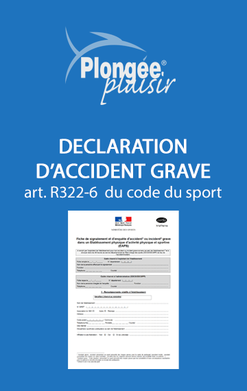 Déclaration d'accident grave Cerfa N°15796*01
