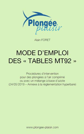 Mode d'emploi des tables MT92
