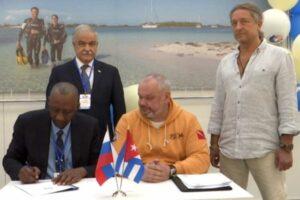 Russes et Cubains signent un accord sur le développement de centres de plongée